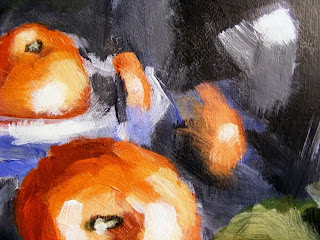 Detail Big Apple painting
