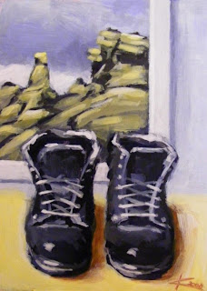 A Pair of Boots painting