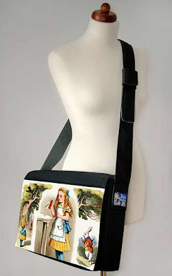 Alice in Wonderland women's laptop bag