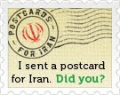 Postcards for Iran!
