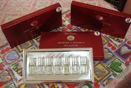 Arabian essence Wangian selebriti antarabangsa halal dan suci RM42 sekotak
