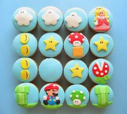 Super-Mario Cupcakes