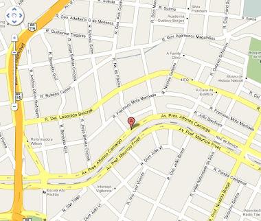 Mapa do consultório