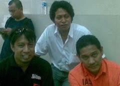 Ketua R99 Taufik Besama Ketua Relawan TIP-16 & Hendra Sirajuddin