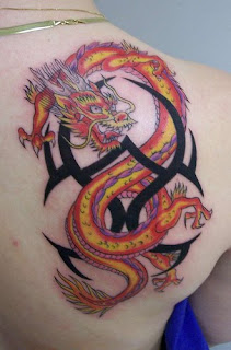celtic dragon tattoo wallpaper
