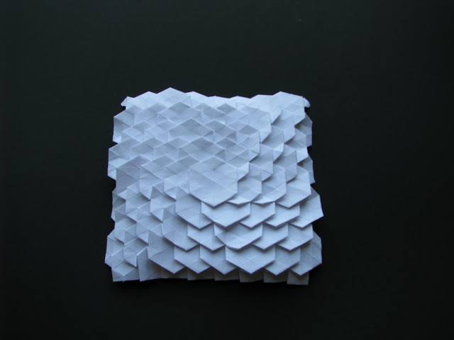 Eric Gjerde WhiteSpread Hexagon Tessellation front