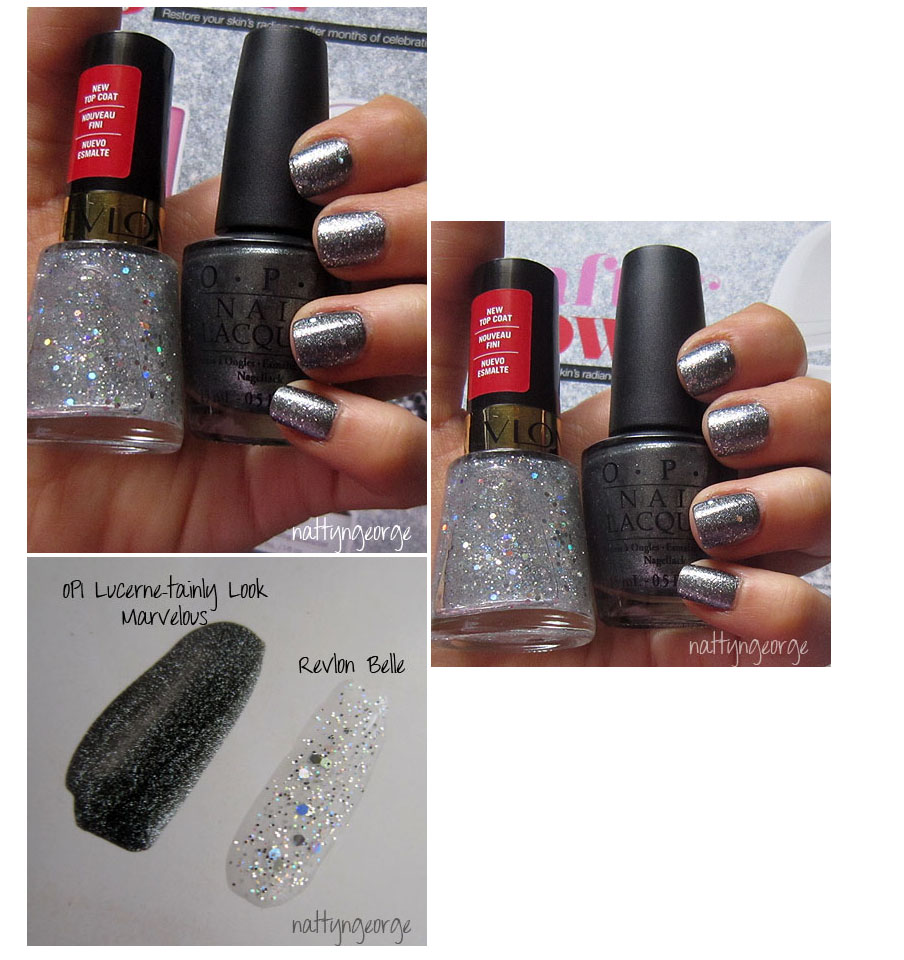 NOTD: Glittery Gunmetal! OPI Lucerne-tainly Look Marvelous