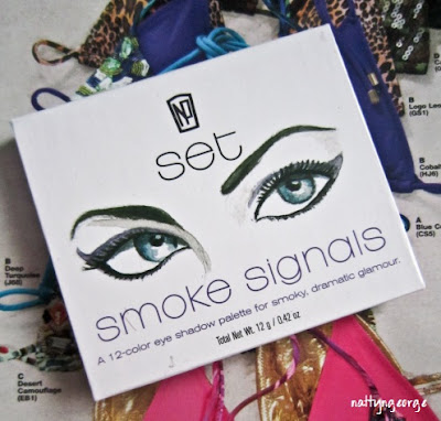 Napoleon Perdis Smoke Signals 12 Color Eye Shadow Palette