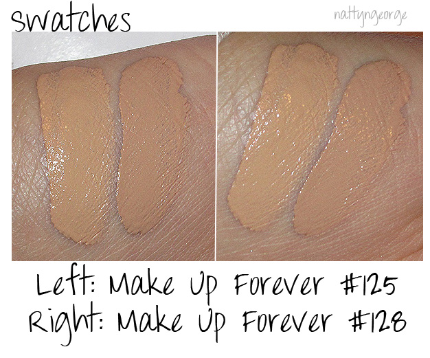 Swatches! Make Review,  HD Up Foundation and skin makeup Forever dark Photos beige for