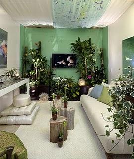 Dekorasi konsep garden