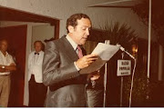III FIESTA LA BIZNAGA.                 PREGONERO AÑO 1977