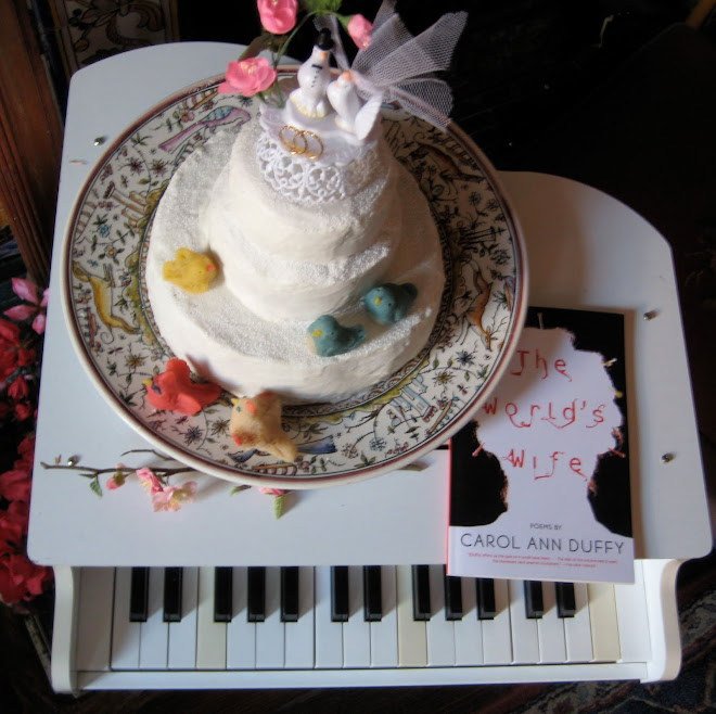 Wedding Cake with Marzipan Birds and Poems by Carol Ann Duffy