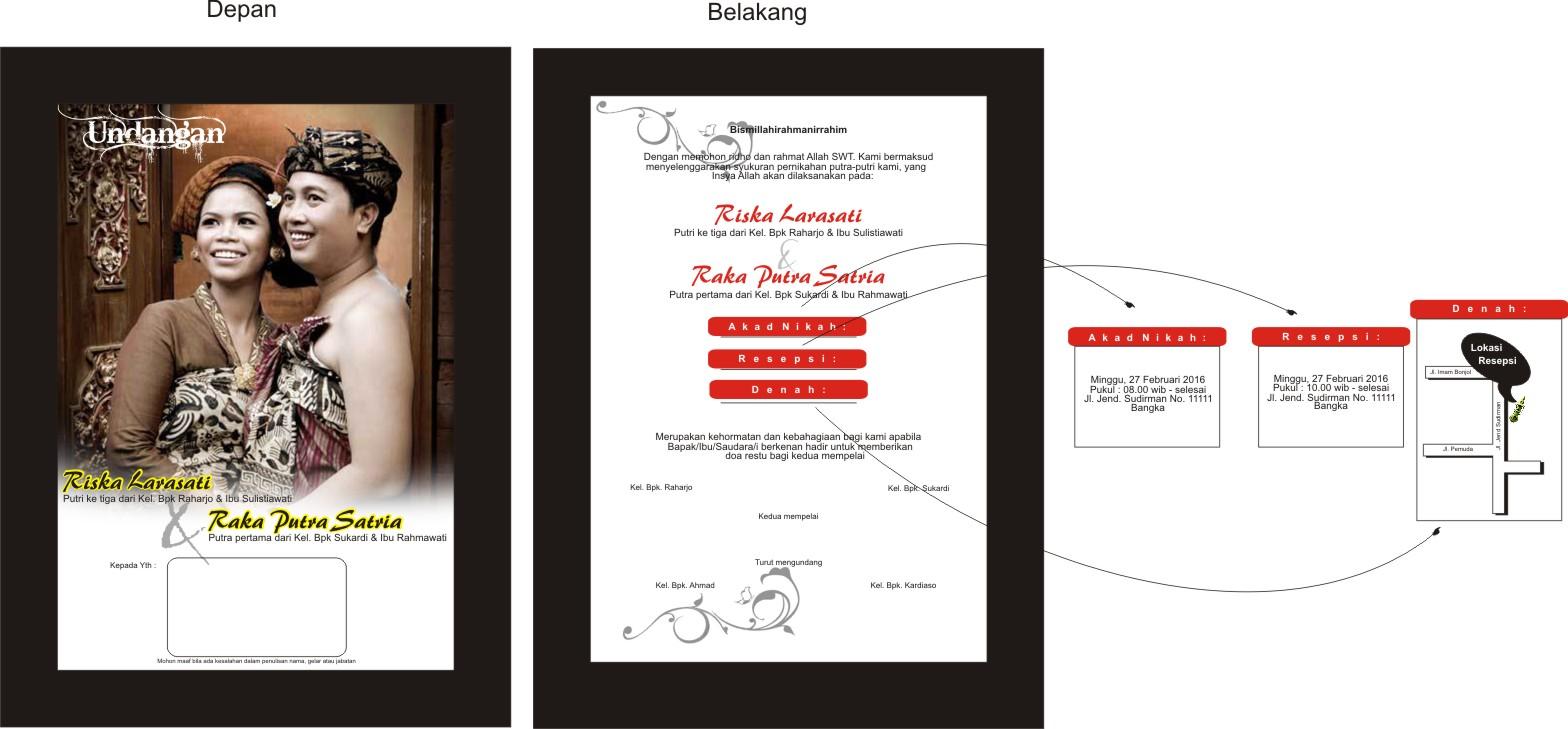 undangan or wedding card of the month mo bikin undangan yang beda dari ...