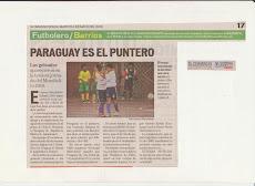 REPORTAJE DEL DIARIO ULTIMAS NOTICIAS  MARTES 4 DE MAYO 2010