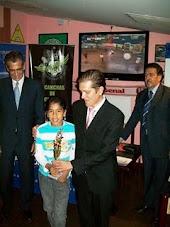 CEREMONIA DE PREMIACION - COPA BANCO DE GUAYAQUIL 2009
