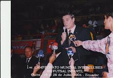 PRIMER CAMPEONATO MUNDIAL INTER CLUBES DE FUTSAL INFANTIL QUITO 2004