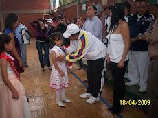 NIÑA SARITA RICO -REINA DEL TERCER MUNDIALITO DE BABY FUTBOL
