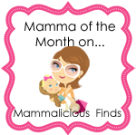 I Was Chosen as Mamma of the Month