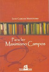 Capa de Para ler Maximiano Campos de 2008