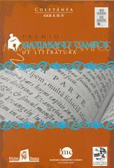 Livro do Prêmio Maximiano Campos em colaboração com Antônio Campos nas versões 2, 3 e 4 (2008)