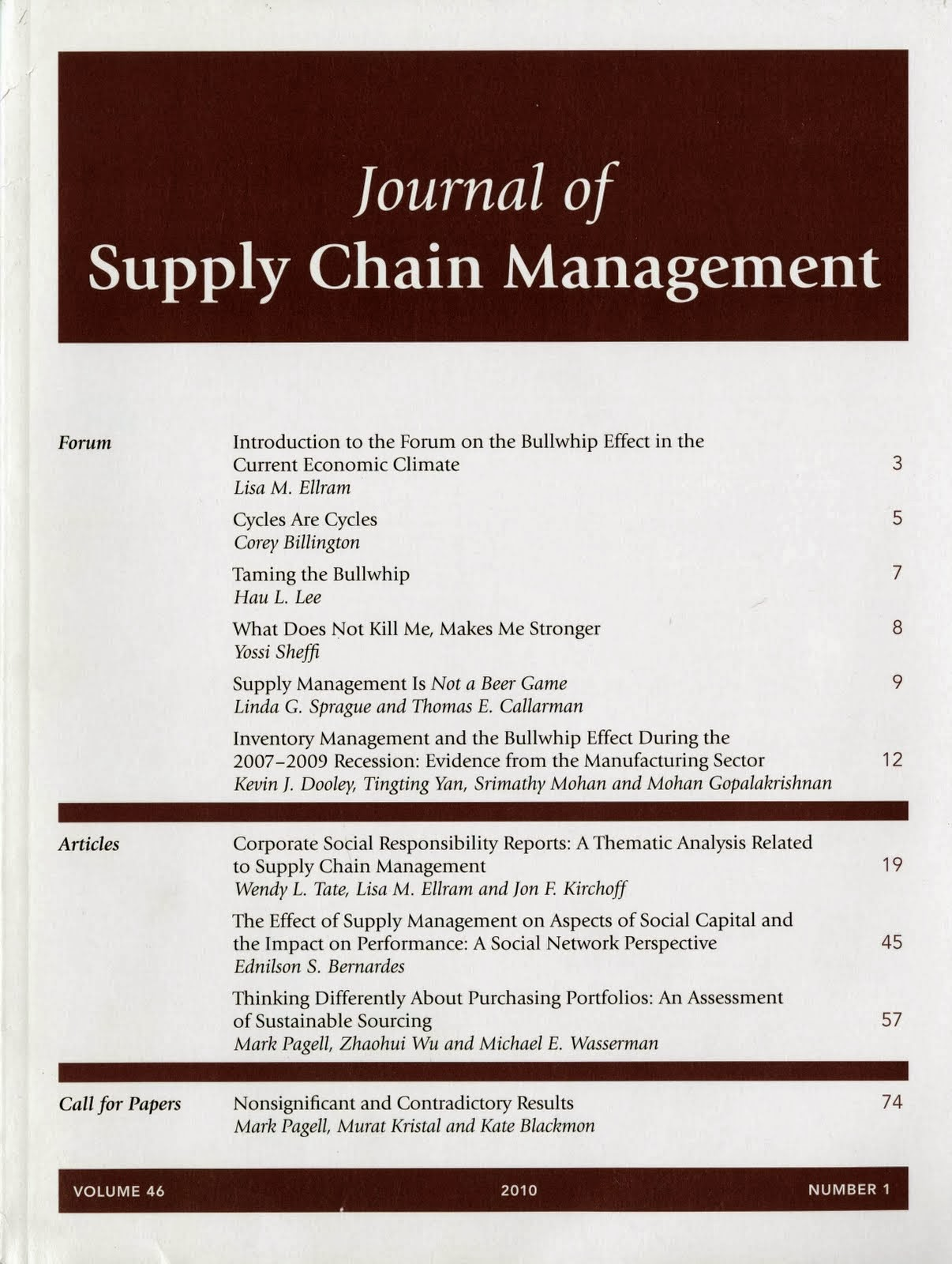 reflective journal supply chain management The growing scale and scope of the supply chain requires a greater understanding of the broader supply chain skills picture this study aims to assess the supply chain skills needs within the context of a uk-based higher education institution involving graduates, academics and employers to appreciate the graduate skills.