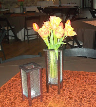 Centerpiece with Fresh Flowers