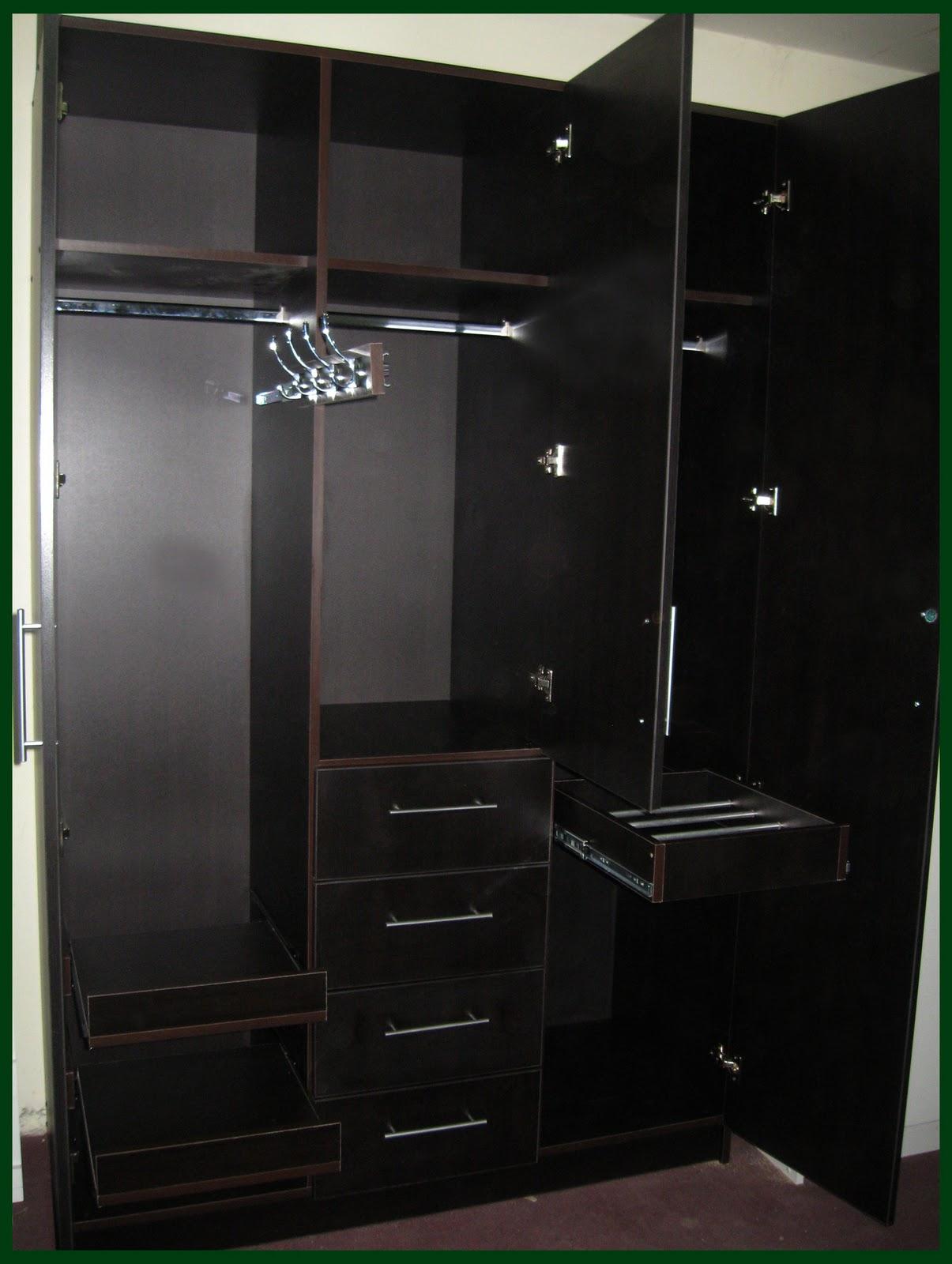 Muebles jose luis chingay modelo exclusivo a1 for Closet modernos con zapatera