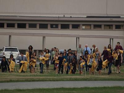 Imagenes del set de Eclipse ( Escena de la Graduación ) Forks+graduation+(6)