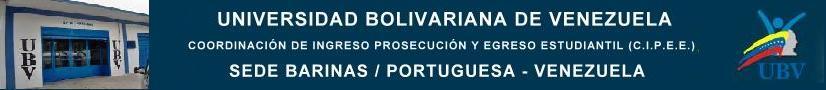 UBVCE BARINAS PORTUGUESA