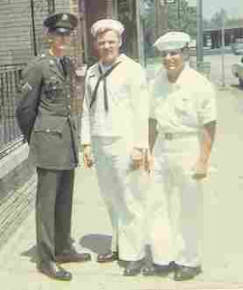 ... officers wore white shoes, petty officers and seamen wore black shoes