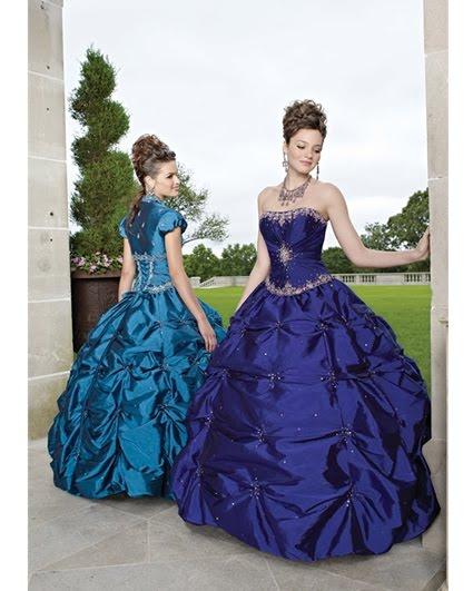 Vestido de 15 años – Color Azul | Vestidos de 15 años 2012