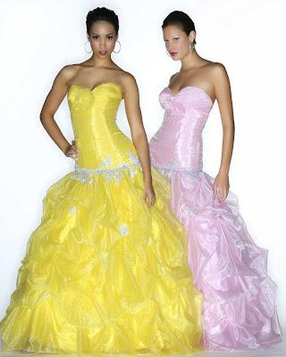 Foto de Vestido de 15 Años - Color Amarillo