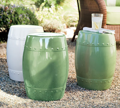 The Look For Less Ceramic Garden Stools Its the little