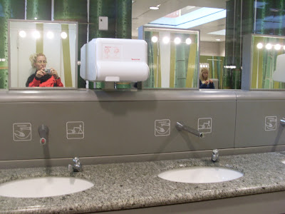 airport bathroom design