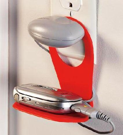 Porta celular de parede