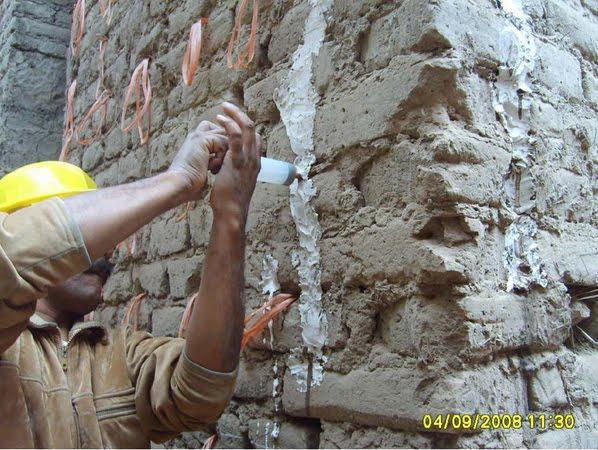 Carlos mar n propiedades lanzan soluci n para reparar - Reparar grietas pared ...