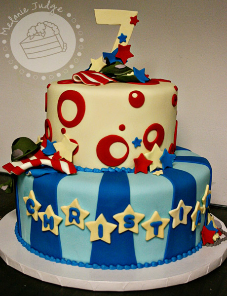 Birthday Cake Ideas For A 7 Year Old Boy : Cake Walk: A Patriotic Birthday