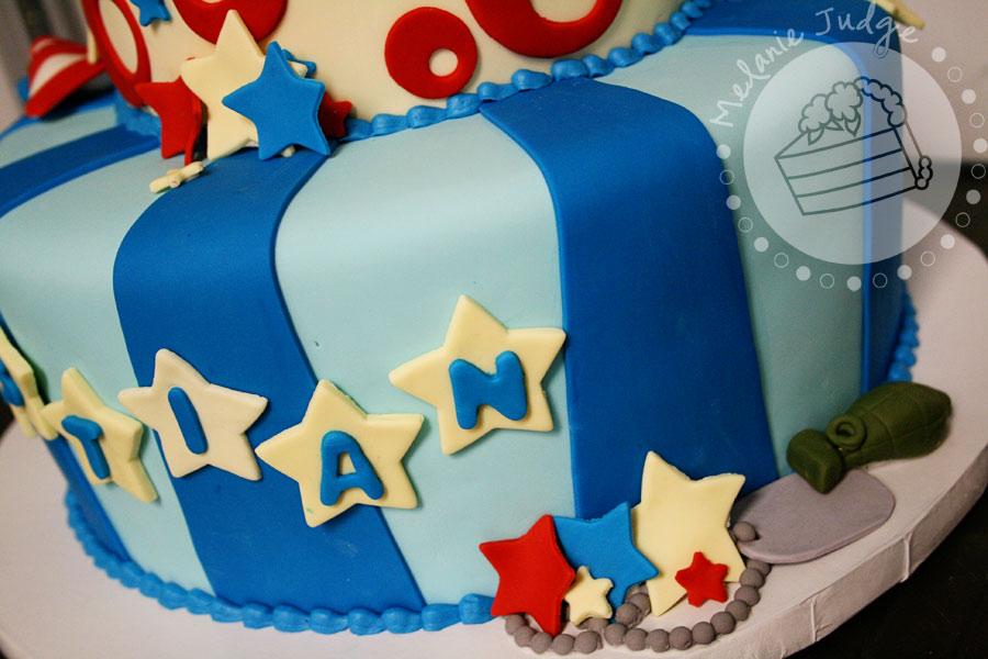 A Patriotic Birthday PhDserts Cakes