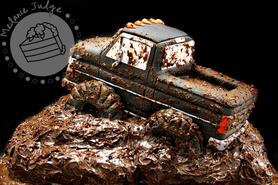 mudding truck cake ph d serts cakes. Black Bedroom Furniture Sets. Home Design Ideas
