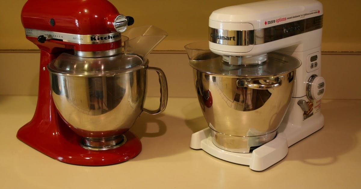 Cake Walk Stand Mixers Kitchenaid Vs Cuisinart