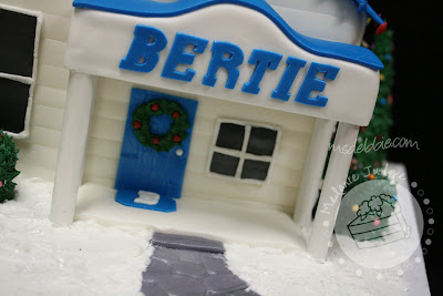 bertie heating and air christmas house chimney front porch