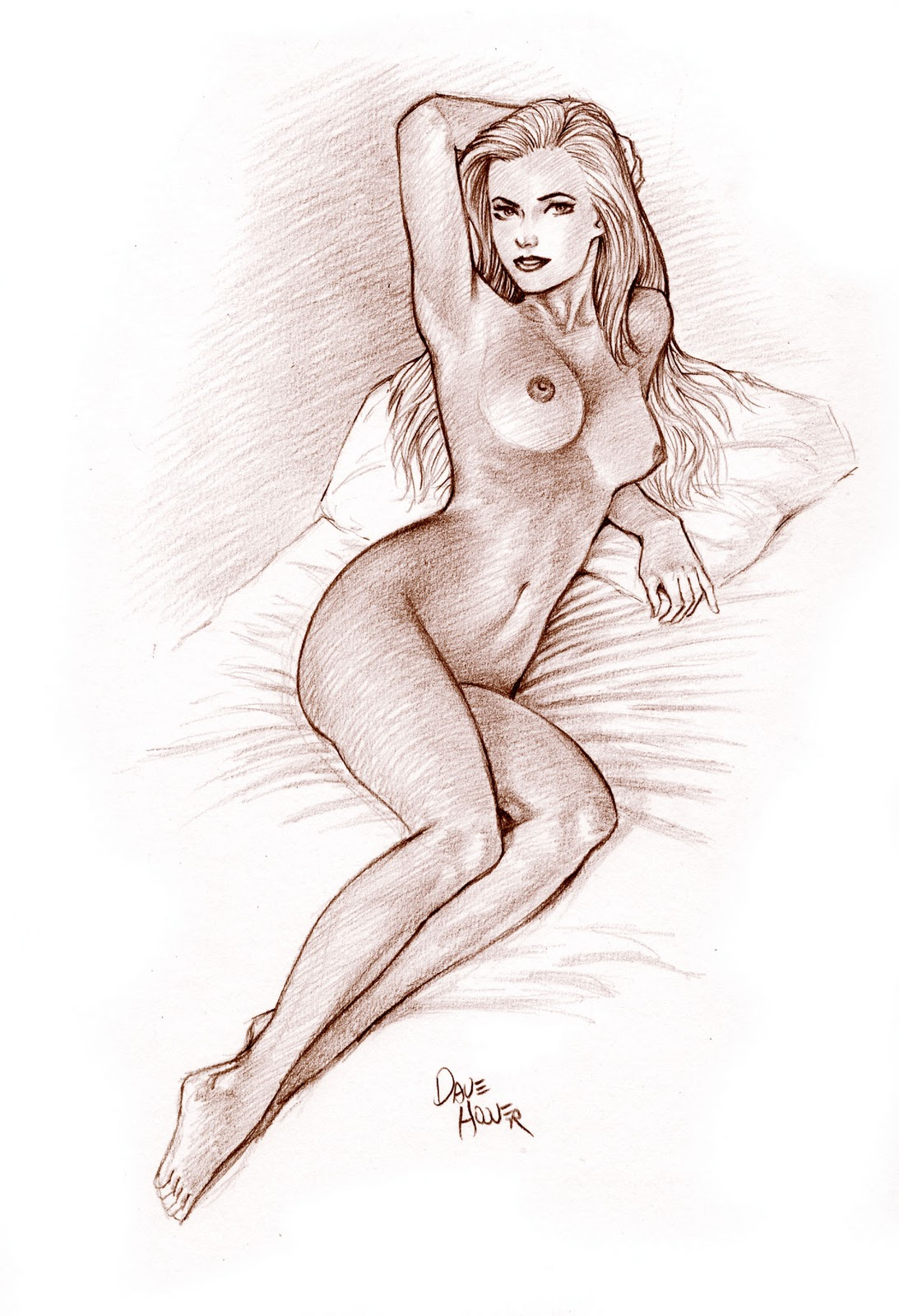 Nude girl drawing exploited pictures