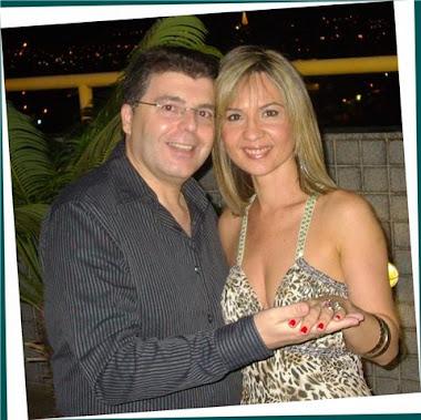 Símbolo do Amor - Casal Feliz, Fernando e Walkyria