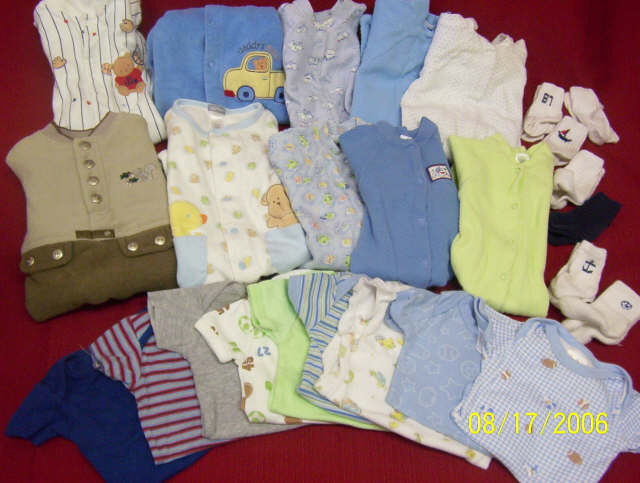 More Clothes for our little Raiden