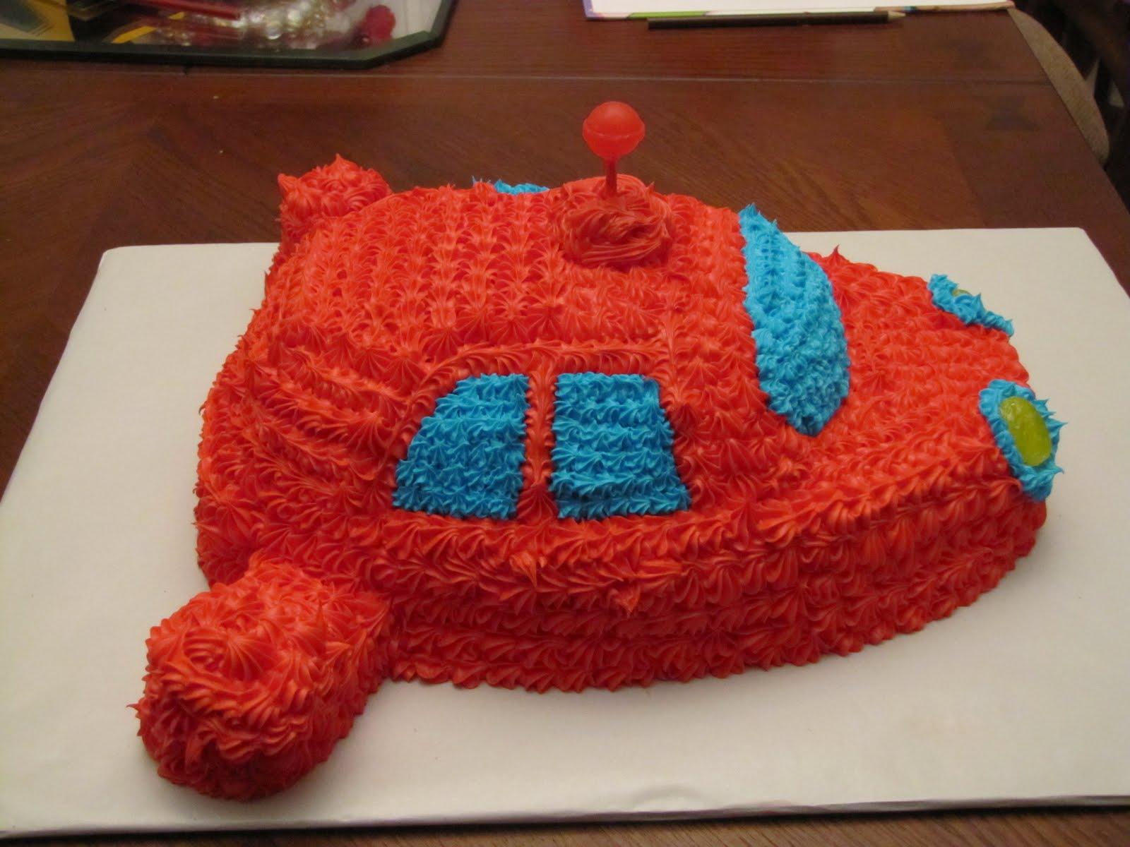 Mels Cakes Little Einsteins Rocket Cake