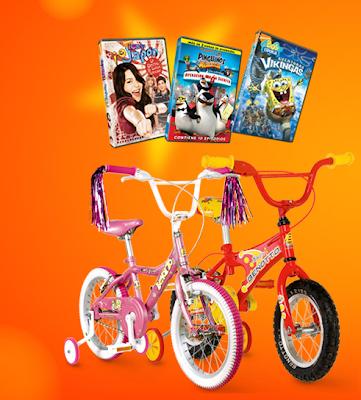 captura bici bennoto paramount pictures DVD