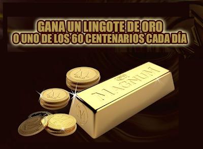 promocion Magnum Gold premios 2010 mexico Lingote oro Centenarios
