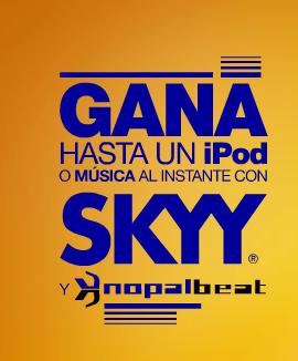 promocion skyy nopal beat Mexico 2010