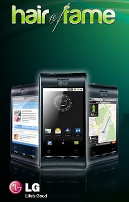 premio celular LG Optimus GT540 negro promocion Innéov Mexico 2011