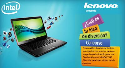 premio Notebook Lenovo Ideapad Y560 promocion lenovo intel Mexico 2011